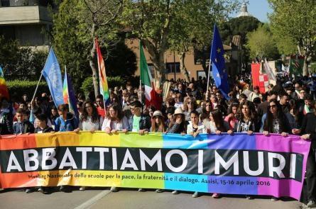 NICHELINO – L'amministrazione comunale partecipa alla marcia PerugiAssisi