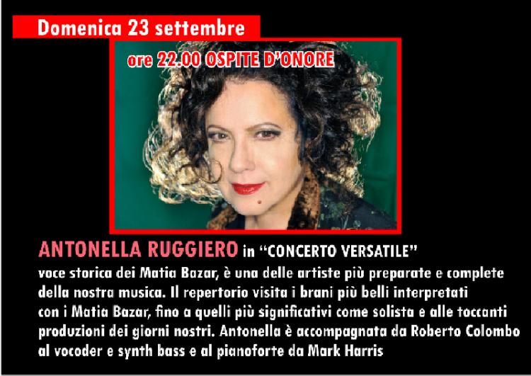 NICHELINO – A San Matteo, concerto gratuito di Antonella Ruggiero