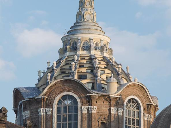 La cupola del Guarini torna a splendere