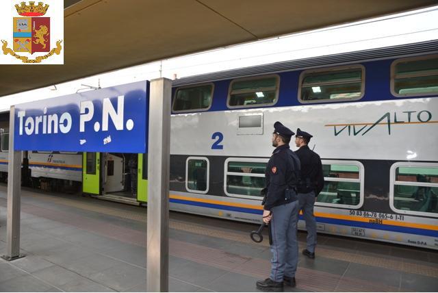 Controlli nella stazioni a cura della Polfer: molte denunce