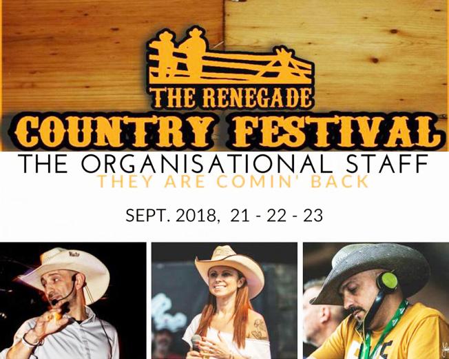 V Renegade Country Festival nel fine settimana in via Tetti Sapini a La Rotta