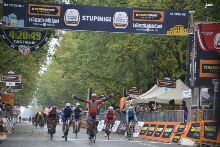 NICHELINO – Sonny Colbrelli vince il Gran Piemonte