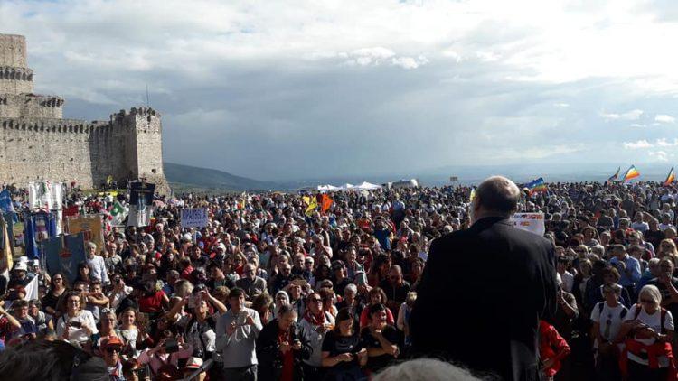 NICHELINO – Rappresentanza del Comune alla marcia della pace