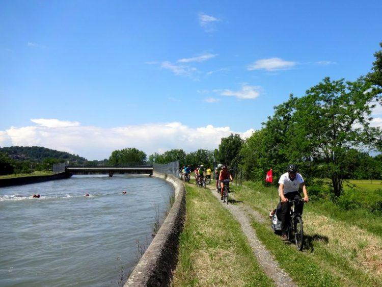 Parco del Po torinese tra bici e progetti per l'ambiente