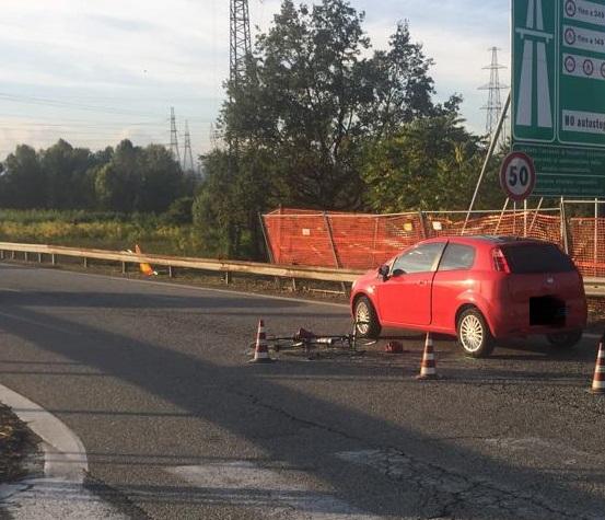 NICHELINO – Ciclista investito all'imbocco della tangenziale