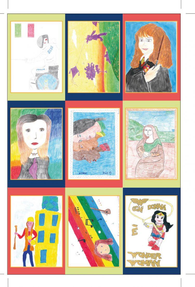 PECETTO – Solo cento esemplari per la cartolina commemorativa con i disegni dei bambini della Nino Costa