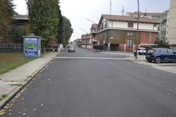 NICHELINO – Finalmente terminati i lavori delle fogne di via Gozzano