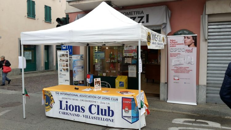 Domenica alla sagra del Ciapinabò di Carignano si fa lo screening per il glaucoma. Con i Lions