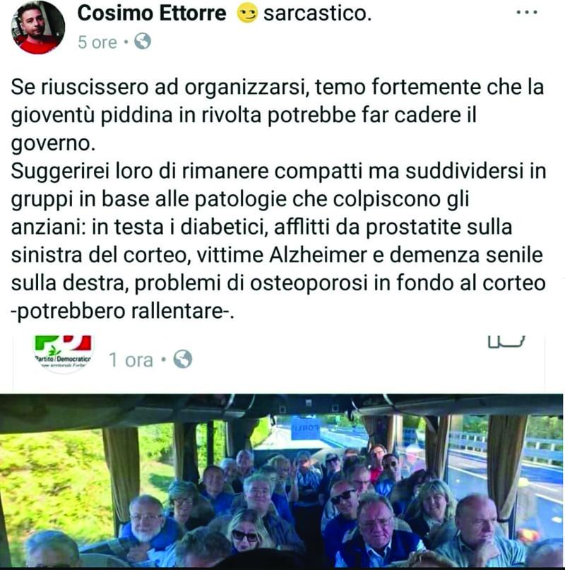 Post contestato: Ettorre (M5S) si dimette