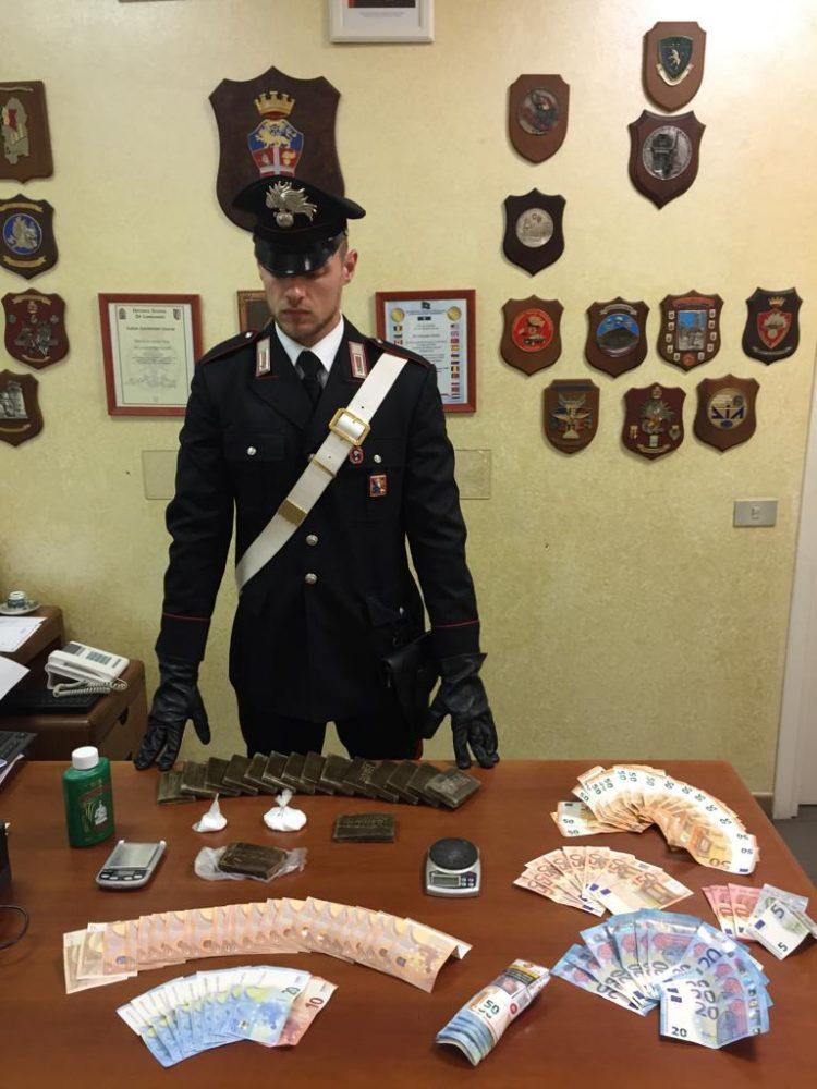 NICHELINO – Spacciatori arrestati dai carabinieri in zona Juvarra