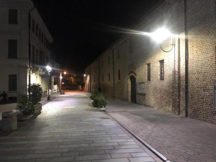 VINOVO – Nuove luci in via San Bartolomeo