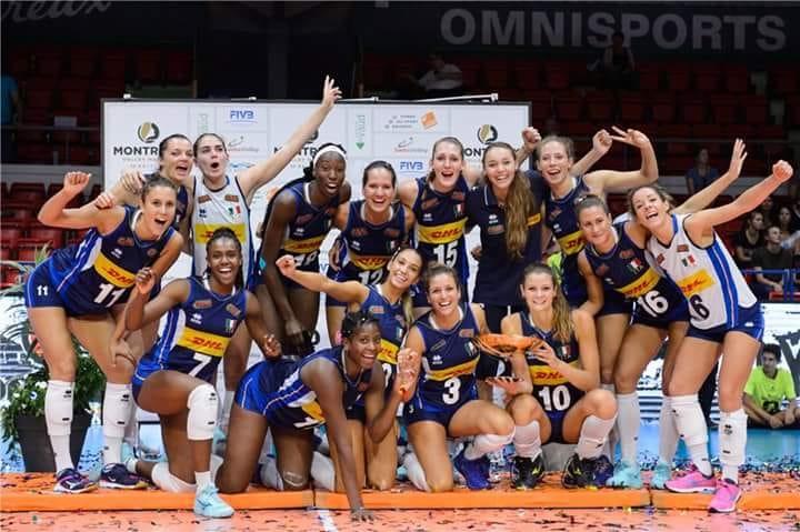 SPORT – Un po' di Nichelino nella nazionale femminile di volley, finalista al mondiale