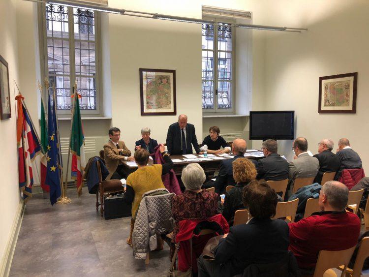NICHELINO – L'assessore Ramello all'assemblea Aiccre