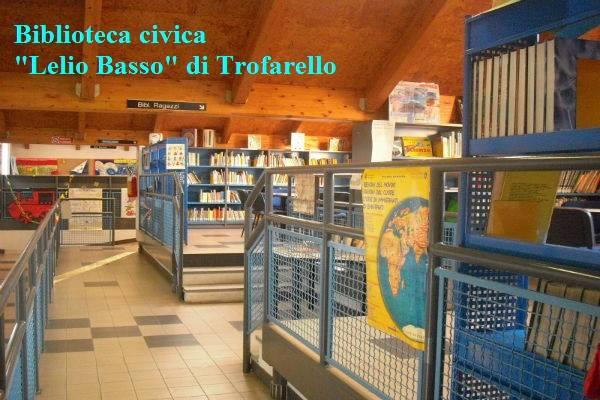 Proseguono i lavori alla Civica di Trofarello: biblioteca ancora chiusa