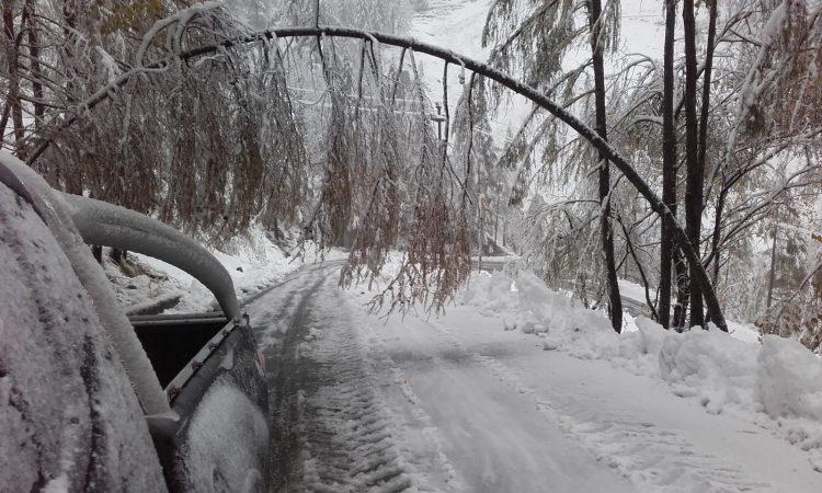 MALTEMPO – Con l'arrivo dell'inverno, i Comuni ricordano i doveri dei privati per la pulizia dalla neve