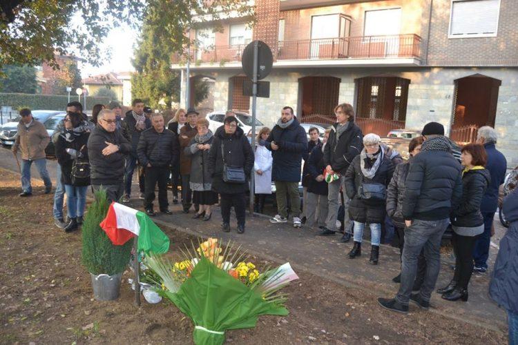 NICHELINO – Inuagurato oggi il giardino a Bruno Santino