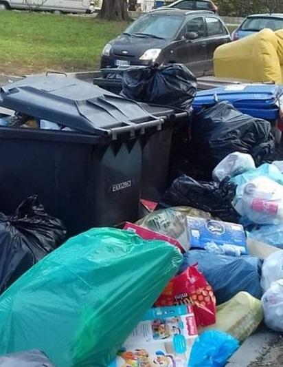 MONCALIERI – Problema abbandoni rifiuti: nuova segnalazione in via Montenero