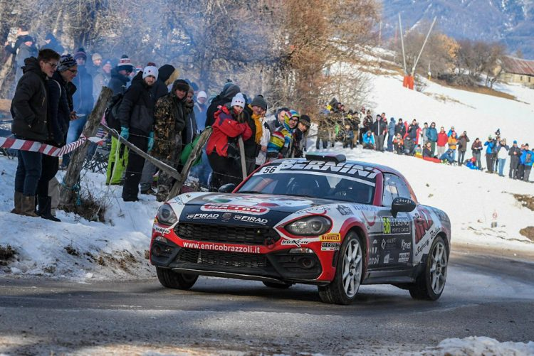 Winners Rally Team all'87° Monte-Carlo. Enrico Brazzoli: Principato arrivo