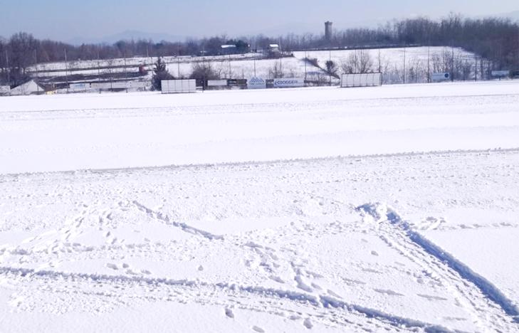 Calcio regionale, nessun rinvio ma qualche cambio di campo per le precipitazioni nevose