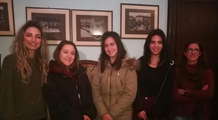 SANTENA – Ecco le ambasciatrici del Comune al Treno della Memoria
