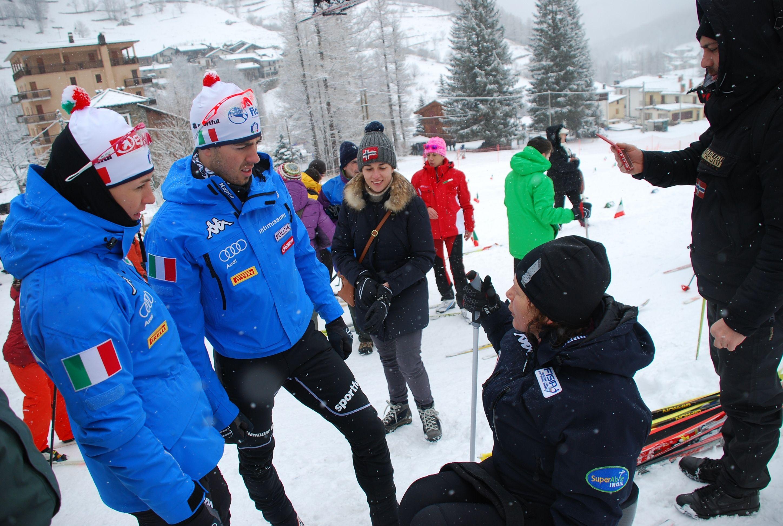 """""""Sulla neve insieme si può volare"""": il 23 e 24 febbraio ritorna a Prali l'evento dedicato allo sport invernale tra i disabili. E c'è anche l'ex azzurraElisa Grill"""