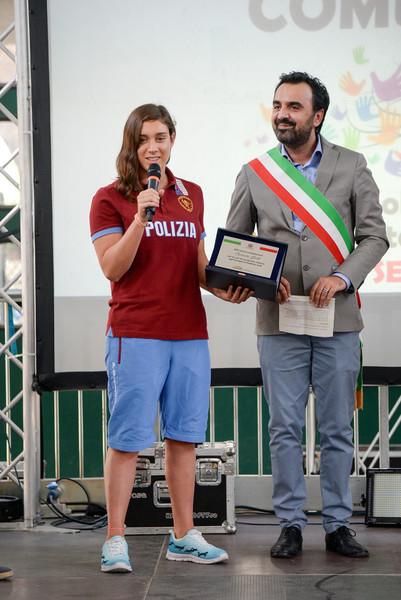 MONCALIERI – Carlotta Gilli premiata con l'onorificenza sportiva
