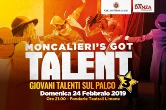 MONCALIERI – Le iscrizioni al talent prorogate al 19 febbraio