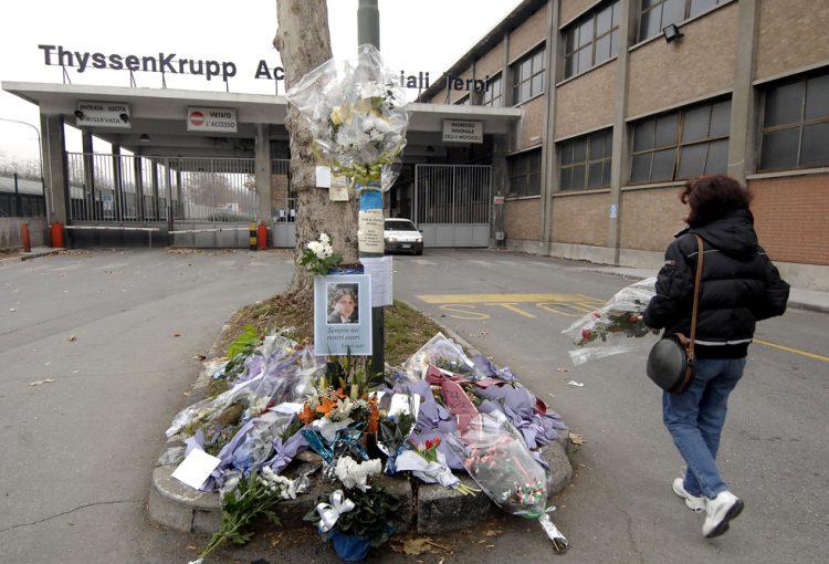 Thyssen: uno dei manager condannati lascia il carcere e viene affidato ai servizi sociali