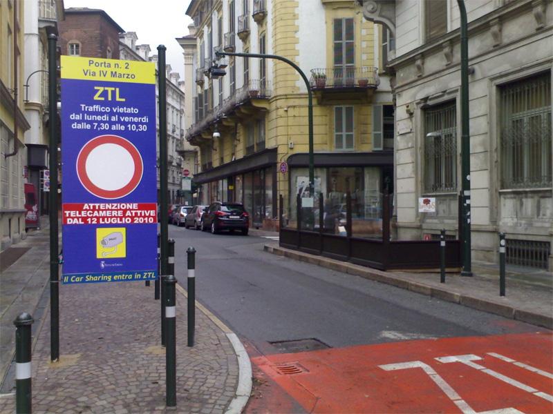 Torino, Confesercenti contro la Ztl allargata