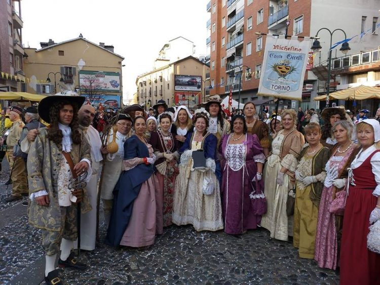 NICHELINO – Buon risultato per il gruppo storico del carnevale al Balon di Torino