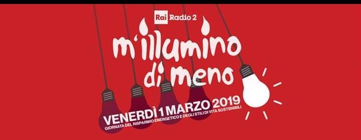 """AMBIENTE – Oggi, 1 marzo, appuntamento con """"M'illumino di meno"""""""