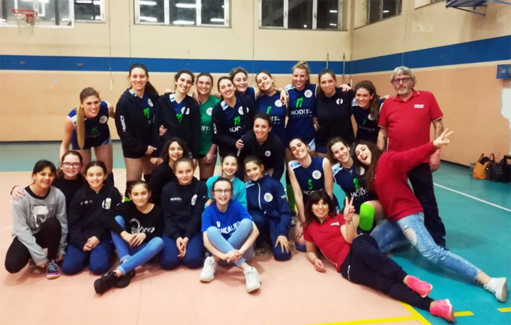 Volley Provinciale, parte bene la seconda fase del Dravelli Modit Group