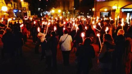 NICHELINO – Fiaccolata in memoria delle vittime della mafia