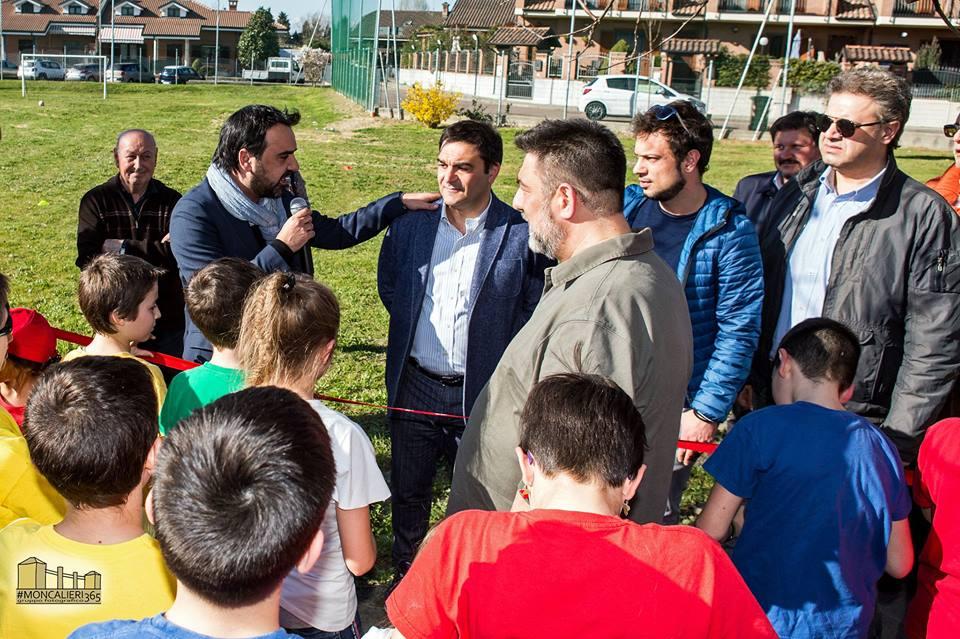 MONCALIERI – Aperto il nuovo parco giochi di Tetti Rolle