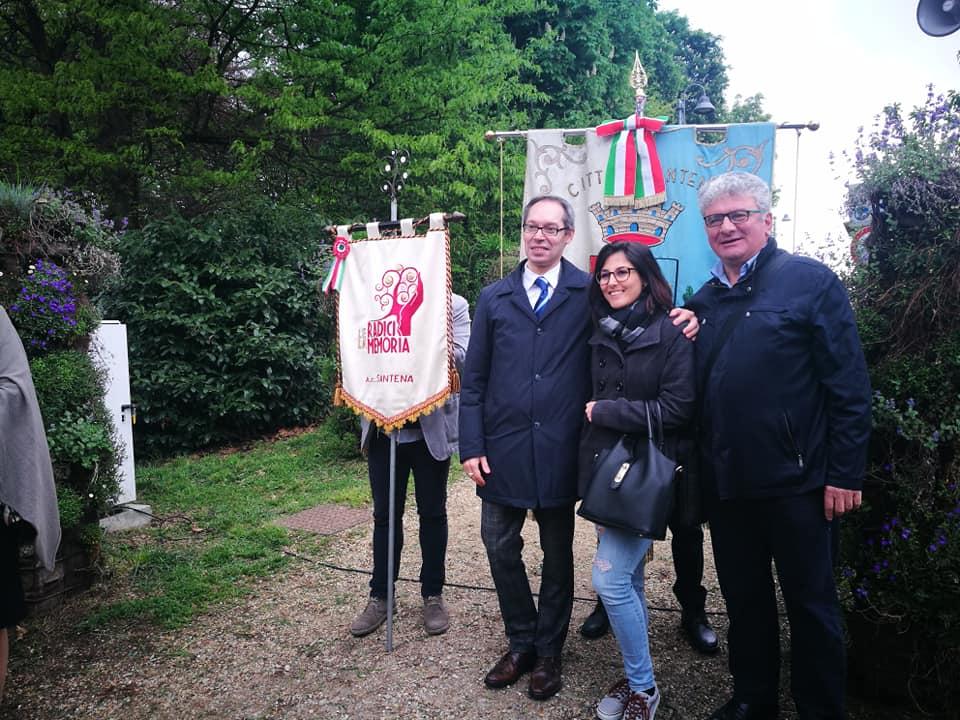 SANTENA – La ricorrenza del 25 aprile nel ricordo dei partigiani