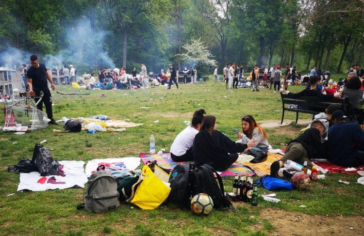 NICHELINO – Pasquetta al Boschetto: i controlli per evitare lo scempio dello scorso anno