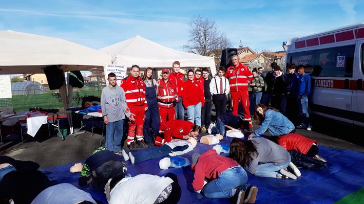 Riambientiamoci, Croce Rossa presente