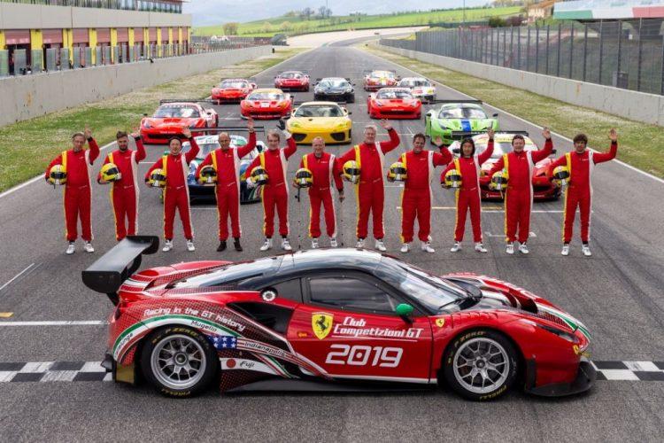 Al Mugello primo appuntamento per il Club Competizioni GT