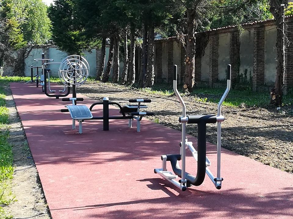 VINOVO – Il parco del Castello diventa palestra a cielo aperto