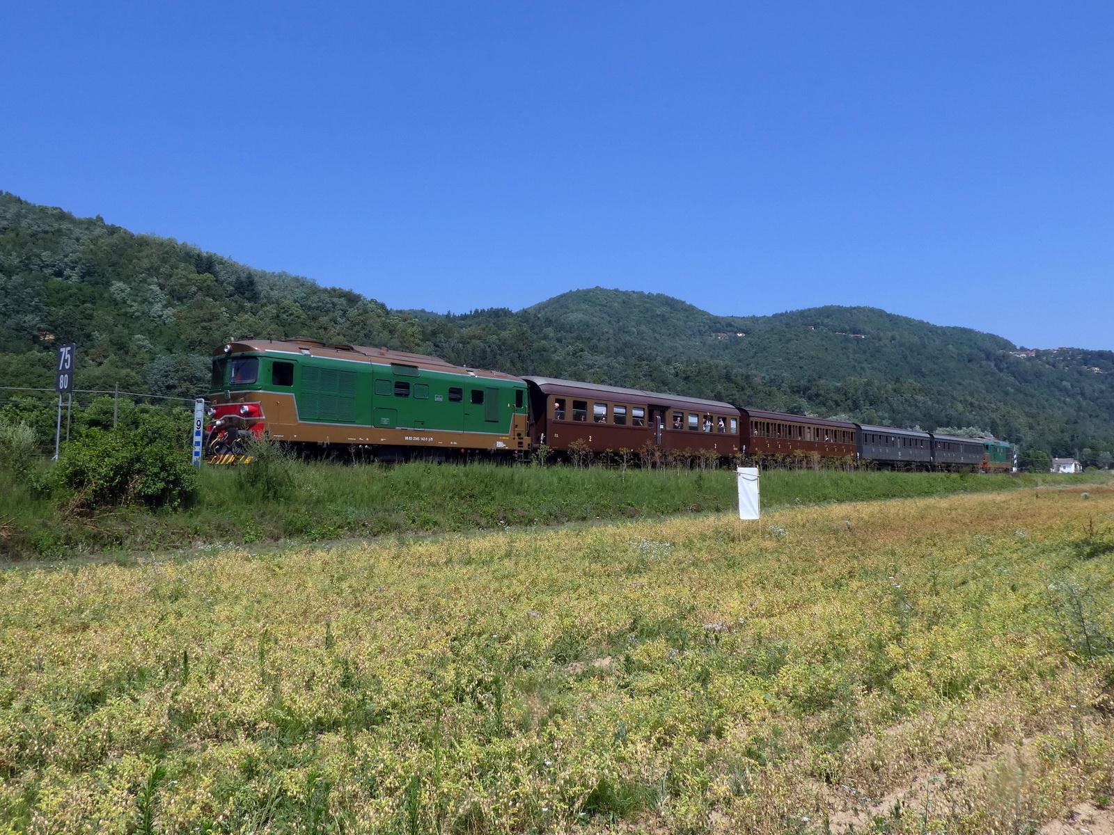 Treno turistico Ceva-Ormea riparte con due ex-Toro