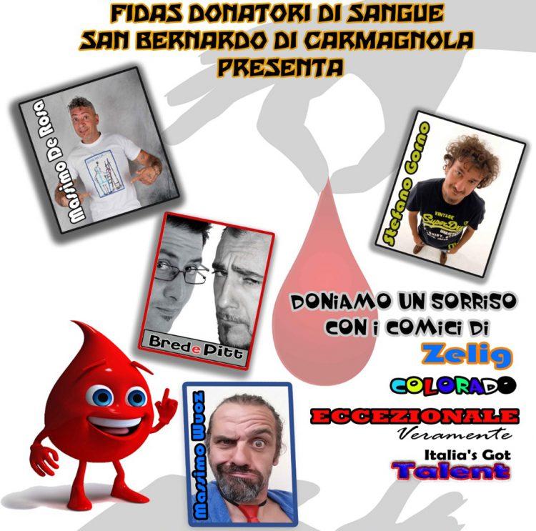 FIDAS Donatori Sangue di San Bernardo di Carmagnola, buon riso fa buon sangue