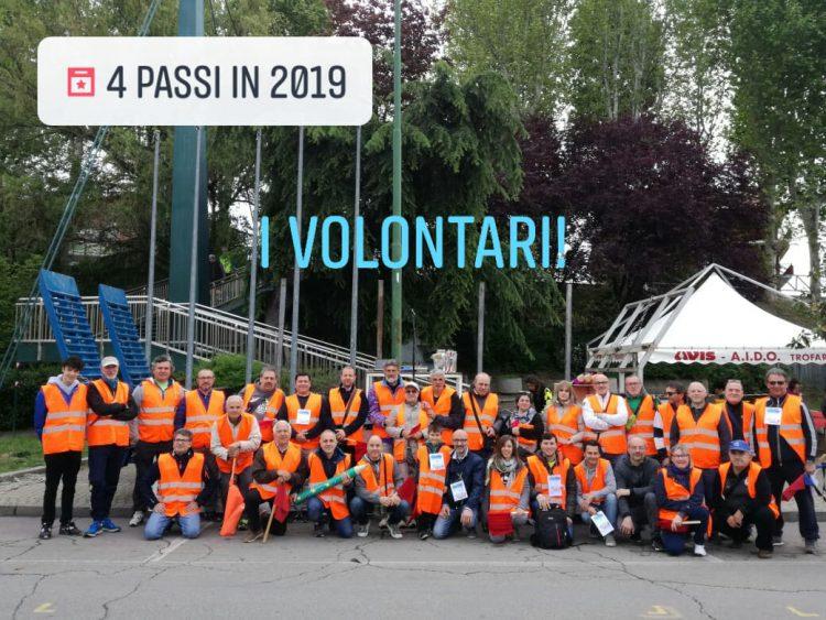 """A Trofarello la """"4 Passi In…"""" fa centro con 500 partecipanti e tanti volontari"""