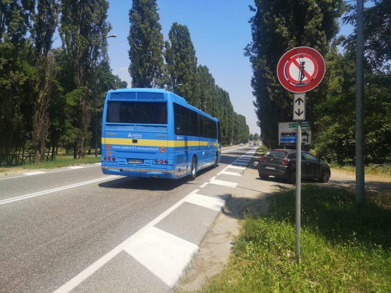 NICHELINO – Segnali stradali di divieto della prostituzione