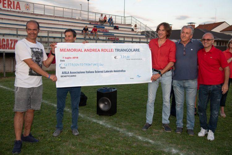 """NICHELINO – """"Memorial Andrea Rolle"""" al campo Ferrini"""