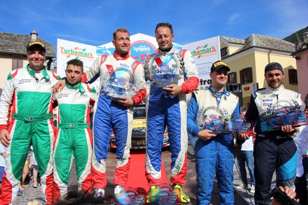 Caffoni e Grossi trionfano per la quarta volta il Rally Valli Ossolane