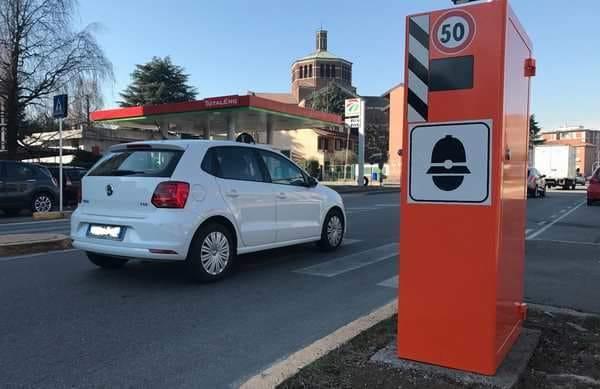 SANTENA – Nuova postazione di controllo velocità