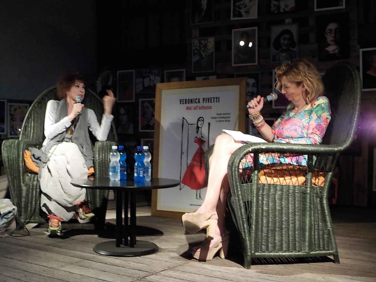 """Veronica Pivetti madrina della prima serata di """"Letti di Notte"""" a Carmagnola"""