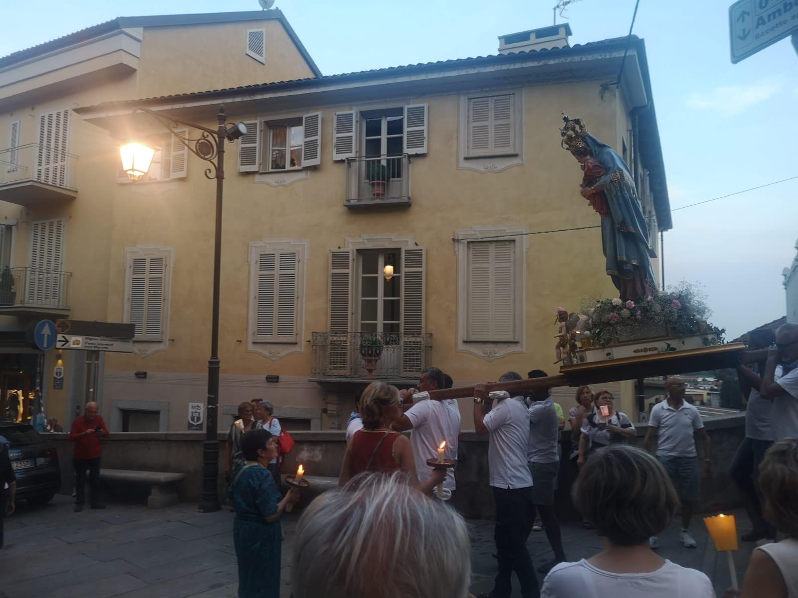 MONCALIERI – La processione della Madonna della Consolata