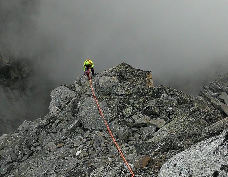 Alpinisti salvati dal Soccorso Alpino