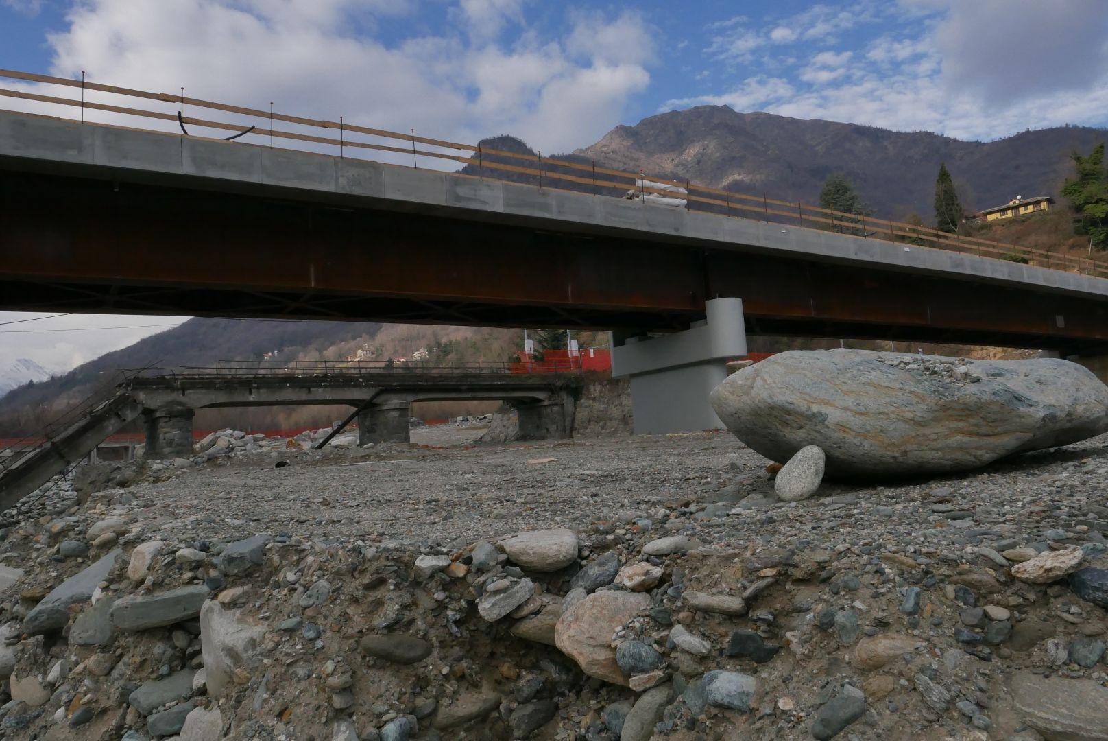 Sabato 27 luglio taglio del nastro per il nuovo ponte della Bertenga, a Torre Pellice